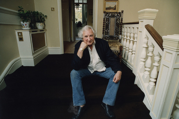 Michael Winner at his home in 1993
