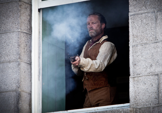 Ripper Street - Season 1, Episode 5 ('The Weight of One Man's Heart') Madoc Faulkner (Iain Glen)