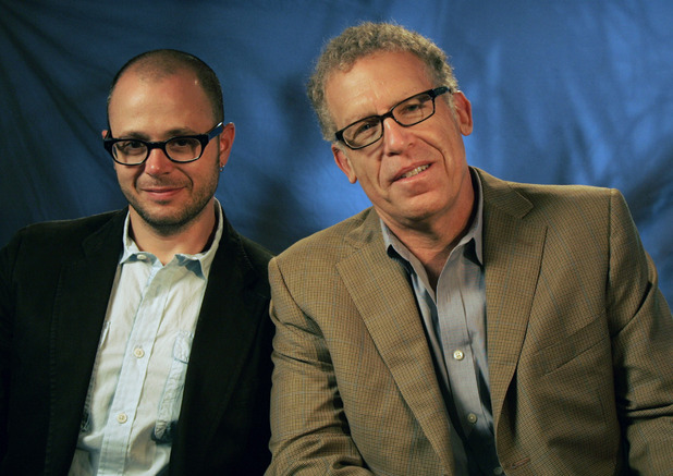 Damon Lindelof (L) and Carlton Cuse (R)