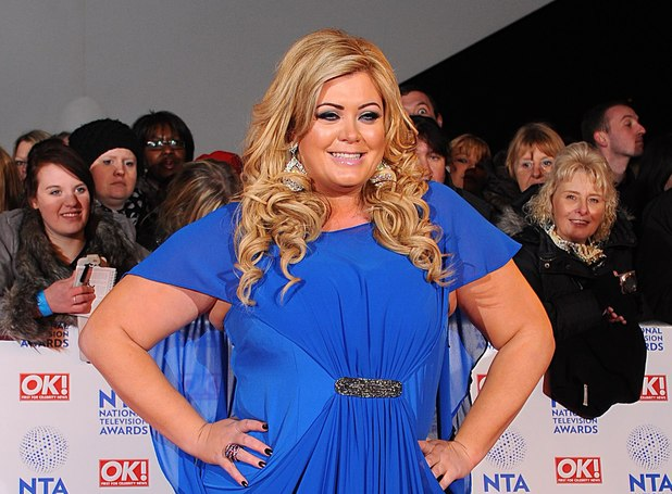 Gemma Collins arriving for the 2013 National Television Awards at the O2 Arena, London.