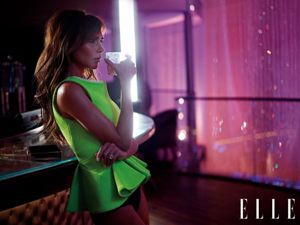 Victoria Beckham in ELLE magazine (March 2013 issue)
