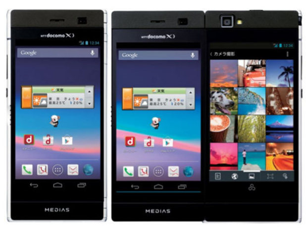 NEC dual-screen smartphone