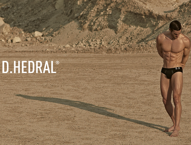 Thom Evans poses for D. Hedral.