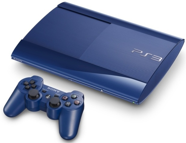 The Blue and Red 'Super Slim' PlayStation 3, coming to Japan in February