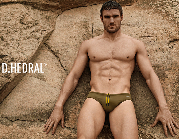 Thom Evans poses for D. Hedral