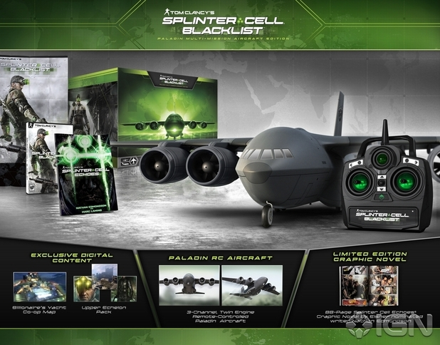 Splinter Cell: Blacklist collector's edition.