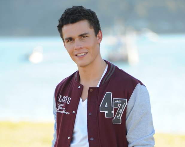 Andrew Morley as Spencer in Home and Away