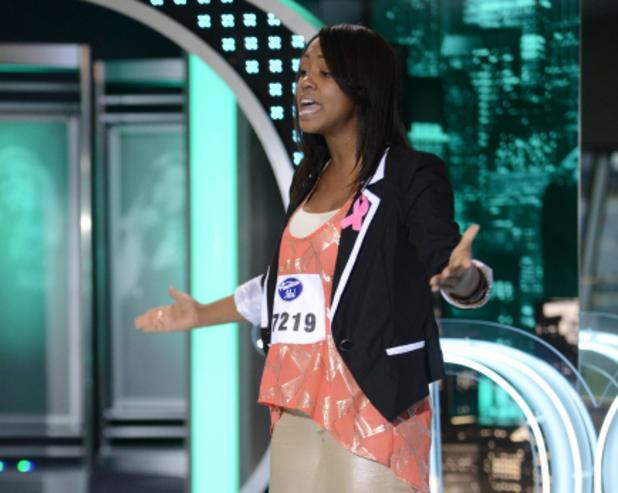 American Idol - Charlotte auditions: Sarina-Joi Crowe