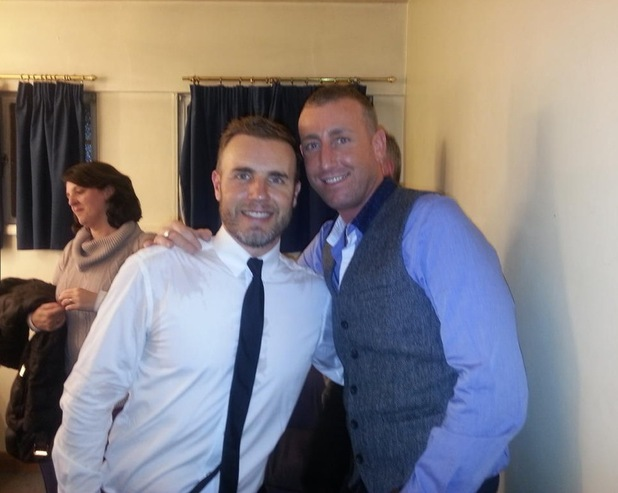 Chris Maloney Gary Barlow