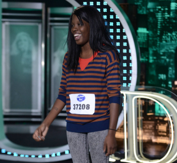 American Idol - Charlotte auditions: Taisha Bethea
