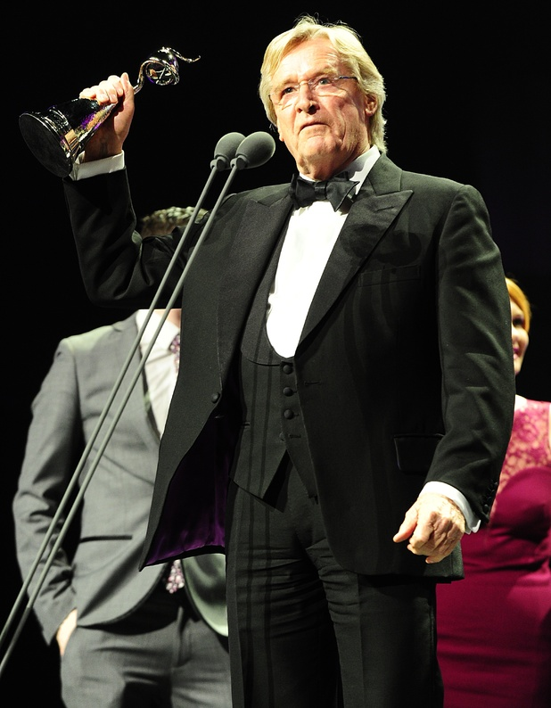 William Roach with the award for best Serial Drama received for Coronation St during the 2013 National Television Awards at the O2 Arena, London.