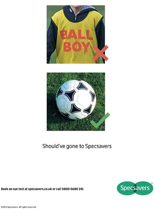 Specsavers advert