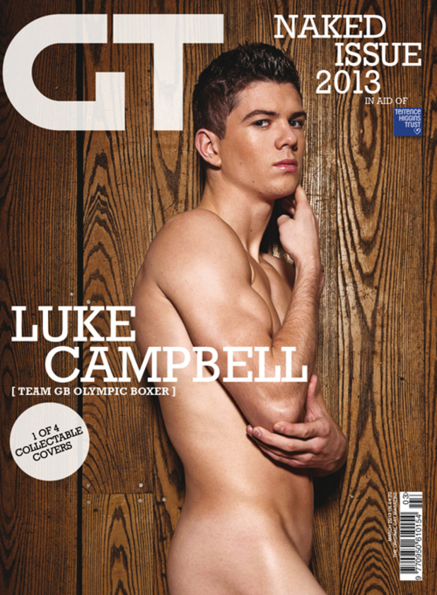 Gay Times Naked Issue 2013 - Luke Campbell