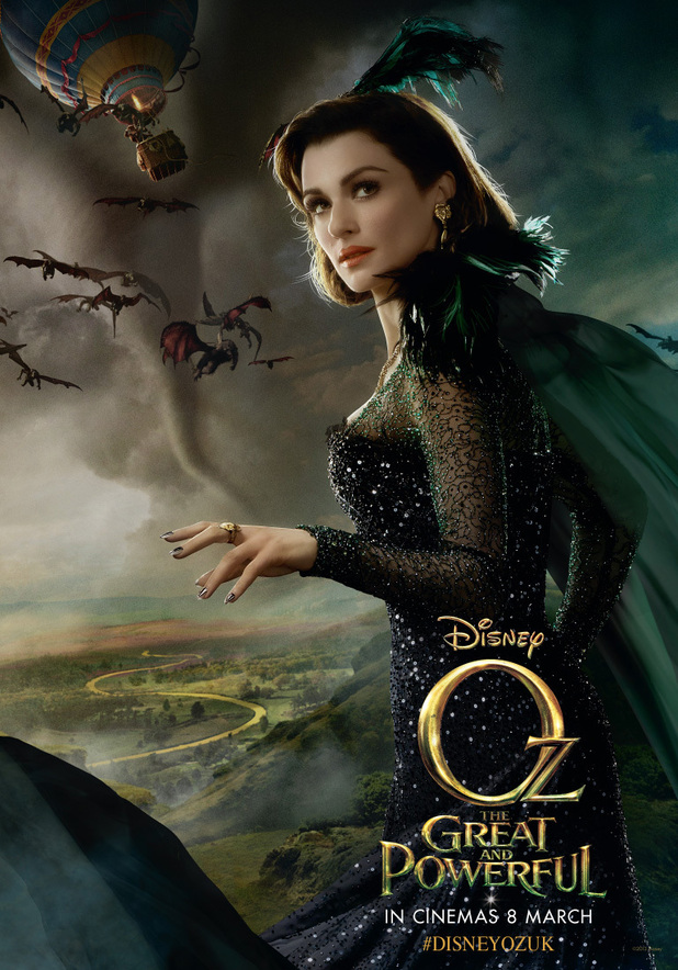 Oz The Great and Powerful, Rachel Weisz as Evanora