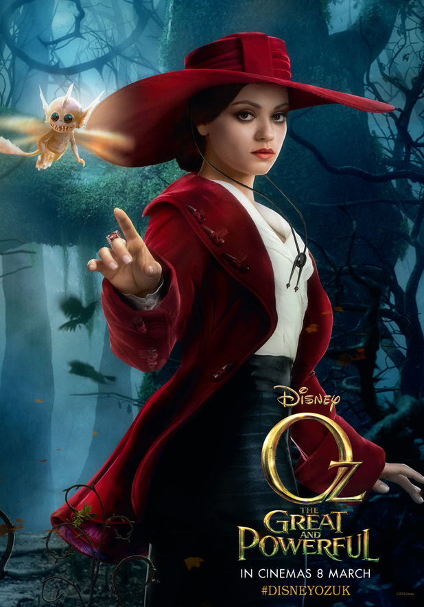Oz the Great and Powerful poster gallery