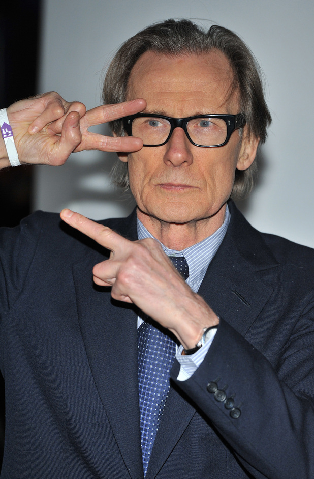 Bill Nighy, 'IF - Enough food for everyone'  Twitter charity campaign launch event held at Somerset House