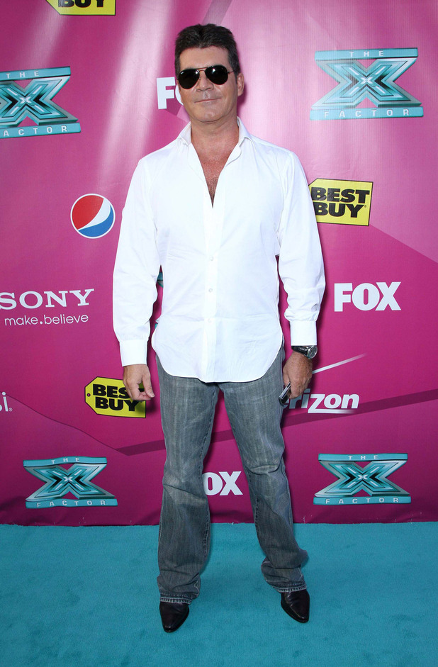 Simon CowellThe 'X Factor' Season Two Premiere Screening and Handprint Ceremony held at Grauman's Chinese Theater