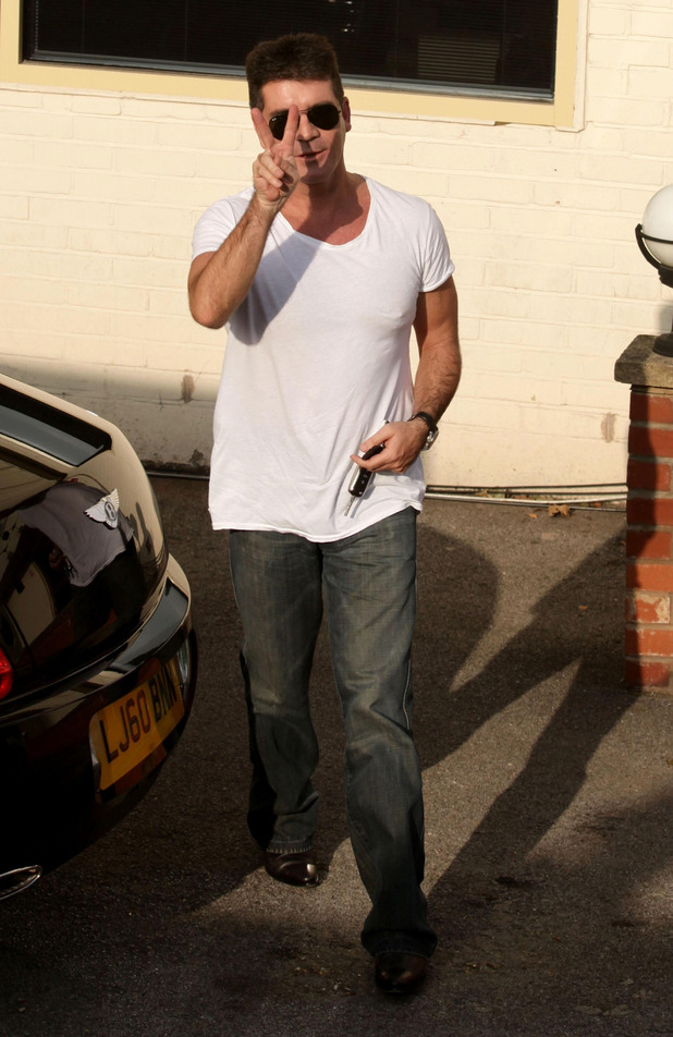 Simon Cowell, X Factor 2010