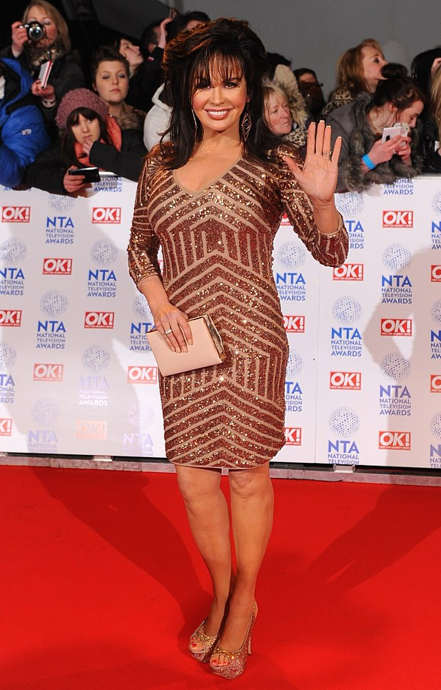 Marie Osmond arriving for the 2013 National Television Awards at the O2 Arena, London.
