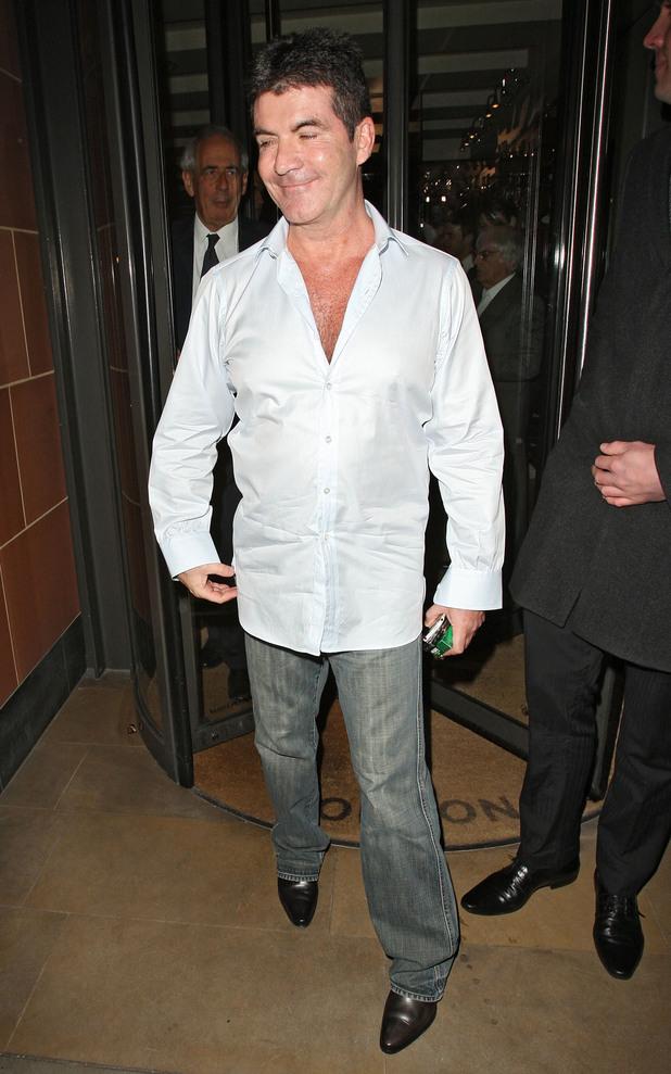 Simon Cowell's jeans - pics