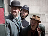Ripper Street - Season 1, Episode 5 ('The Weight of One Man's Heart') Edmund Reid (Matthew MacFadyen) and Captain Jackson (Adam Rothenberg)