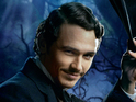 James Franco's Oscar Diggs and the three witches in Digital Spy's exclusive artwork.