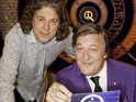 Alan Davies reveals the strange reason that QI isn't seen in the States.