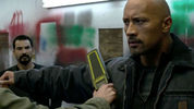 Dwayne Johnson fronts the Super Bowl trailer for action-thriller 'Snitch'.