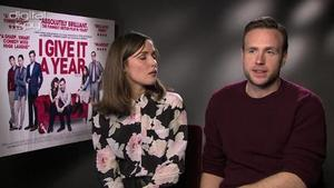 Rose Byrne, Rafe Spall on X-Men Days of Future Past, Prometheus space snake death