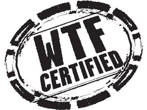 DC Comics&#39; WTF Certified logo