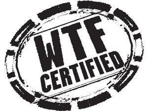 DC Comics' WTF Certified logo