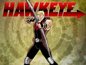 First look at Hawkeye in 'Ultimate Spider-man' cartoon