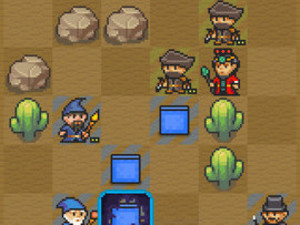 'Pixel Defenders Puzzle' screenshot