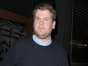 James Corden leaving the Groucho club in Soho Featuring: James Corden Where: London, United Kingdom When: 01 Feb 2013 Credit: Will Alexander/WENN.com