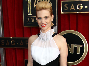 January Jones, 19th Annual Screen Actors Guild Awards in LA.