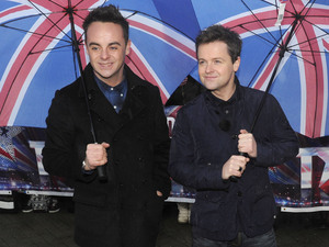 'Britain's Got Talent' judges arrive at the auditions held at Clyde Auditorium: Ant & Dec