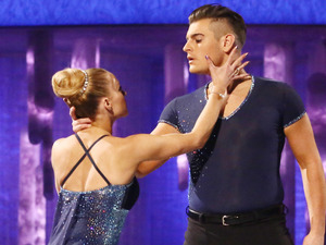 Dancing on Ice: Matt and Brianne in the skate-off.