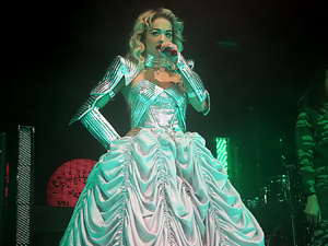 Rita Ora performing live on stage her 'Radioactive' tour at Manchester Academy Featuring: Rita Ora Where: Manchester, United Kingdom When: 28 Jan 2013
