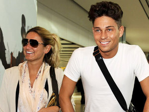 Sam Faiers and Joey Essex return from Dubai
