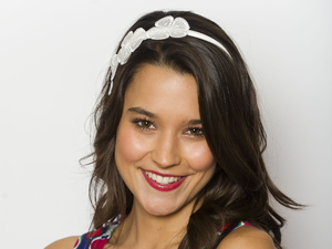 Rhiannon Fish as April Scott in Home and Away