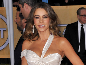 19th Annual Screen Actors Guild (SAG) Awards held at the Shrine Auditorium - Arrivals Featuring: Sofia Vergara Where: Los Angeles, California, United States When: 27 Jan 2013