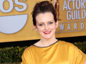 19th Annual Screen Actors Guild (SAG) Awards - Arrivals Featuring: Sophie McShera Where: Los Angeles, California, United States When: 27 Jan 2013 Credit: Brian To/WENN.com