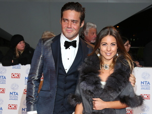The National Television Awards (NTA's) 2013 held at the O2 arena - Arrivals Featuring: Spencer Matthews and Louise Thompson Where: London, United Kingdom