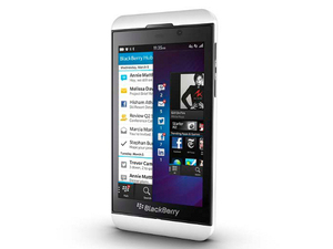 The first mobile phones running the BlackBerry 10 operating system are unveiled.
