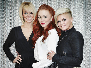 Kerry Katona, Liz McClarnon and Natasha Hamilton from Atomic Kitten on the Big Reunion