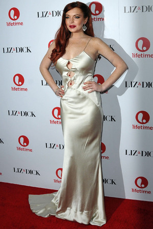 The premiere of 'Liz and Dick' at the Beverly Hills Hotel Featuring: Lindsay Lohan Where: Beverly Hills, United States