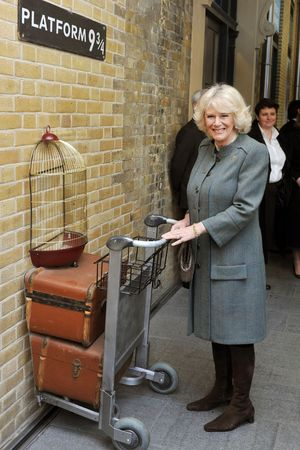 Duchess of Cornwall at King&#39;s Cross