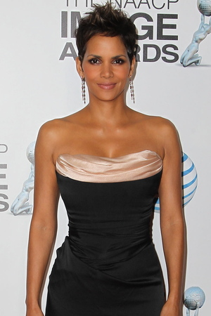 Halle Berry attends the 44th NAACP Image Awards.
