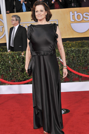 19th Annual Screen Actors Guild (SAG) Awards held at the Shrine Auditorium - Arrivals Featuring: Sigourney Weaver Where: Los Angeles, California, United States