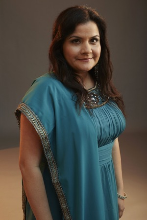 Nina Wadia as Zainab Masood in EastEnders